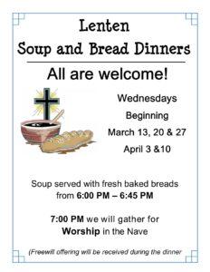 Lenten Dinners @ Union Lutheran Church